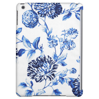 Capri Blue Foral Toile Flower