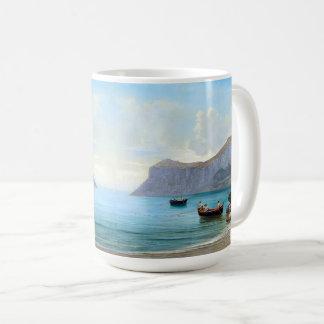 Capri Italy Boats Mediterranean Ocean Sea Mug
