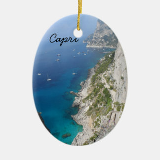 Capri, Italy Ceramic Ornament