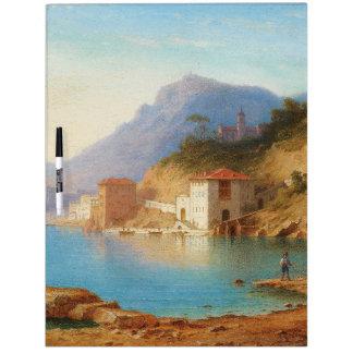 Capri Italy Ocean Mediterranean Dry Erase Board