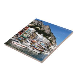 Capri, Italy Tile