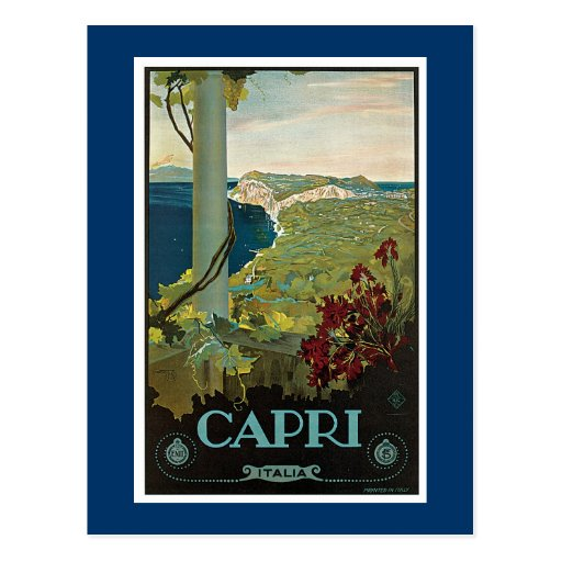 Capri Post Cards