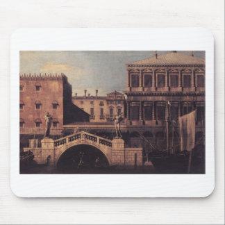 Capriccio: The Ponte della Pescaria and Buildings Mouse Pad