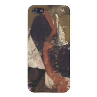 Caprice in Purple and Gold - James Whistler iPhone 5/5S Cover