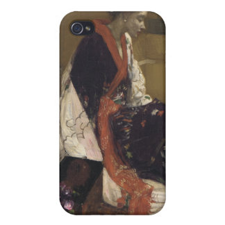 Caprice in Purple and Gold - James Whistler iPhone 4/4S Cases