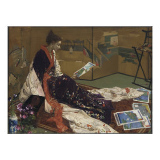 Caprice in Purple and Gold - James Whistler Poster