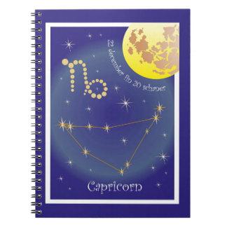 Capricorn 22 more december fin 20 schaner note notebooks