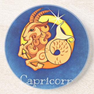 Capricorn Beverage Coaster