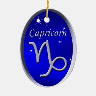 Capricorn Christmas Ornament