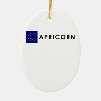 CAPRICORN COLOR CERAMIC ORNAMENT