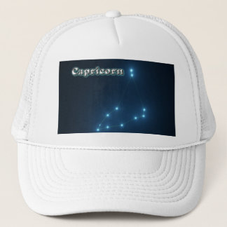 Capricorn constellation trucker hat
