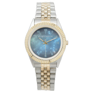 Capricorn constellation wristwatches
