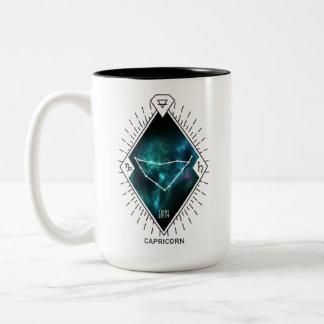 Capricorn Constellation & Zodiac Symbol Two-Tone Coffee Mug