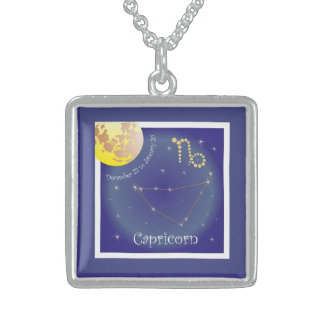 Capricorn December 22 tons of January 20 necklace