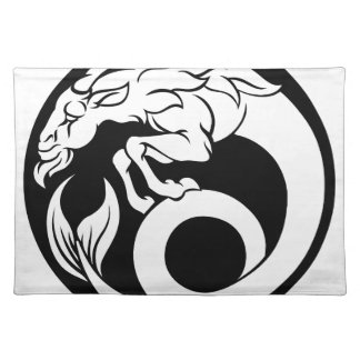 Capricorn Horoscope Zodiac Sign Placemat