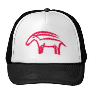 Capricorn ilex cave painting cave painting trucker hats