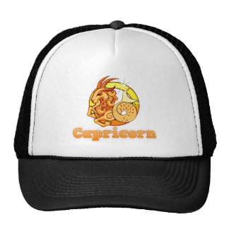 Capricorn illustration cap