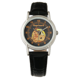 Capricorn illustration watch