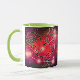 Capricorn in the year of the Rooster Mug