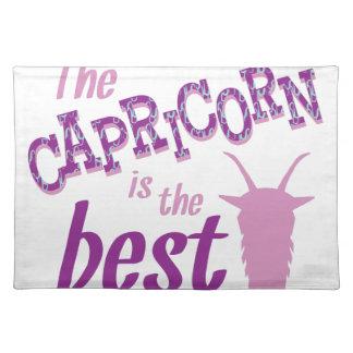 Capricorn Is Best Placemat