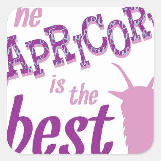 Capricorn Is Best Square Sticker