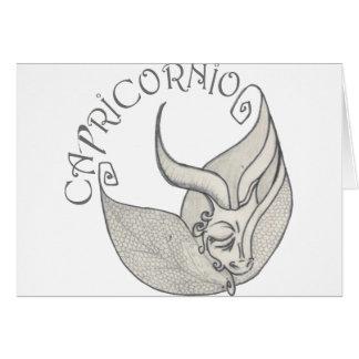 Capricorn Note Card