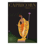 Capricorn Note Greeting Card
