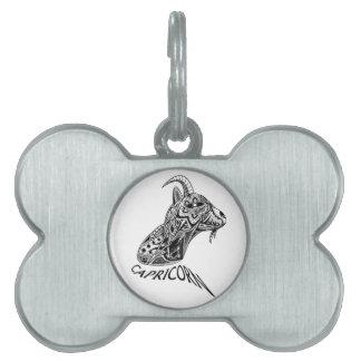 Capricorn Pet Tag