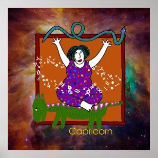 Capricorn Poster Print