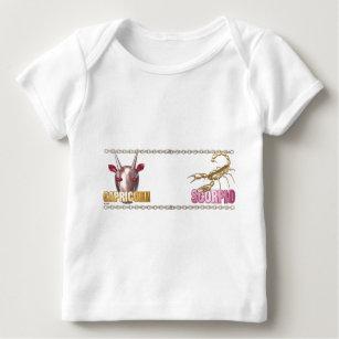 Capricorn Zodiac Sign Baby Tops & T-Shirts | Zazzle com au