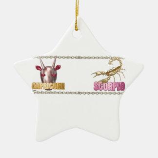 Capricorn Scorpio friendship Ornaments