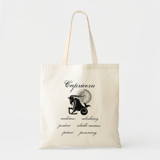 Capricorn Shadow Traits Tote Bag