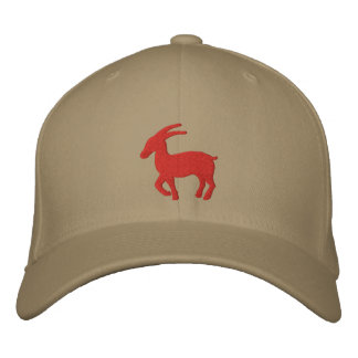 Capricorn Sign Embroidered Baseball Cap