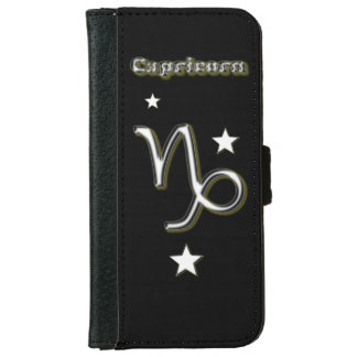 Capricorn symbol iPhone 6 wallet case