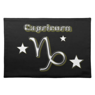 Capricorn symbol place mats