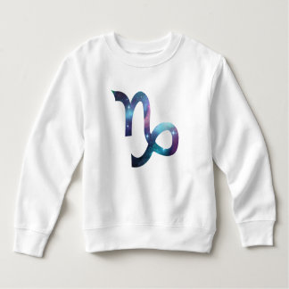 Capricorn Symbol Toddler Fleece Sweatshirt