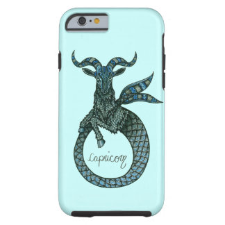 Capricorn Symbol Tough iPhone 6 Case