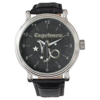 Capricorn symbol watches