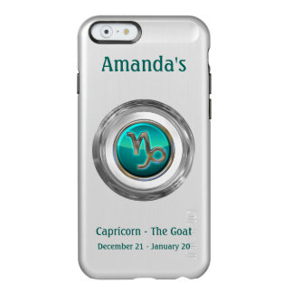 Capricorn - The Goat Zodiac Sign Incipio Feather® Shine iPhone 6 Case
