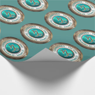 Capricorn - The Goat Zodiac Sign Wrapping Paper