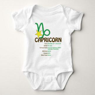 Capricorn Traits Baby Baby Bodysuit