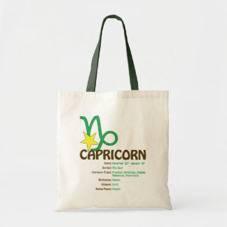 Capricorn Traits Tote
