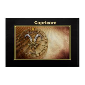 Capricorn Zodiac Astrology design Acrylic Print