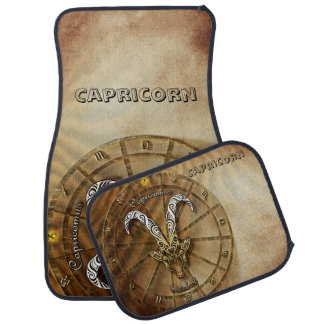 Capricorn Zodiac Astrology design Car Mat