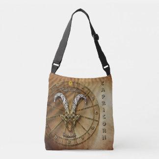 Capricorn Zodiac Astrology design Crossbody Bag
