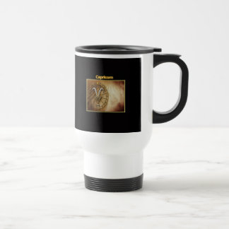 Capricorn Zodiac Astrology design Travel Mug