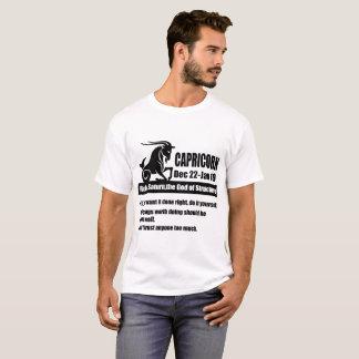 capricorn zodiac astrology signs dates ,capricorn, T-Shirt