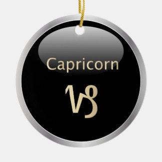 Capricorn zodiac astrology star sign ornament
