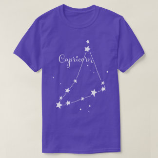Capricorn Zodiac Constellation T-shirt