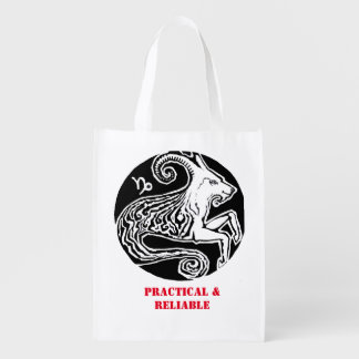 Capricorn - Zodiac Grocery bag
